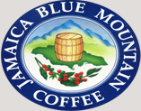 This seal signifies that Blue Mountain Coffee Inc. is approved by the Jamaican Coffee Board.