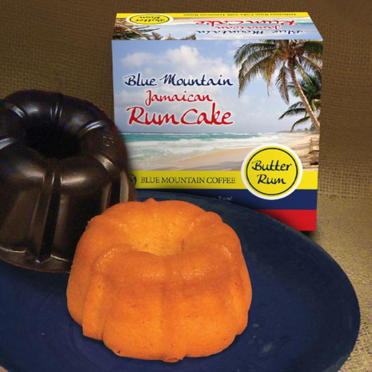 Blue Mountain Rum Cake