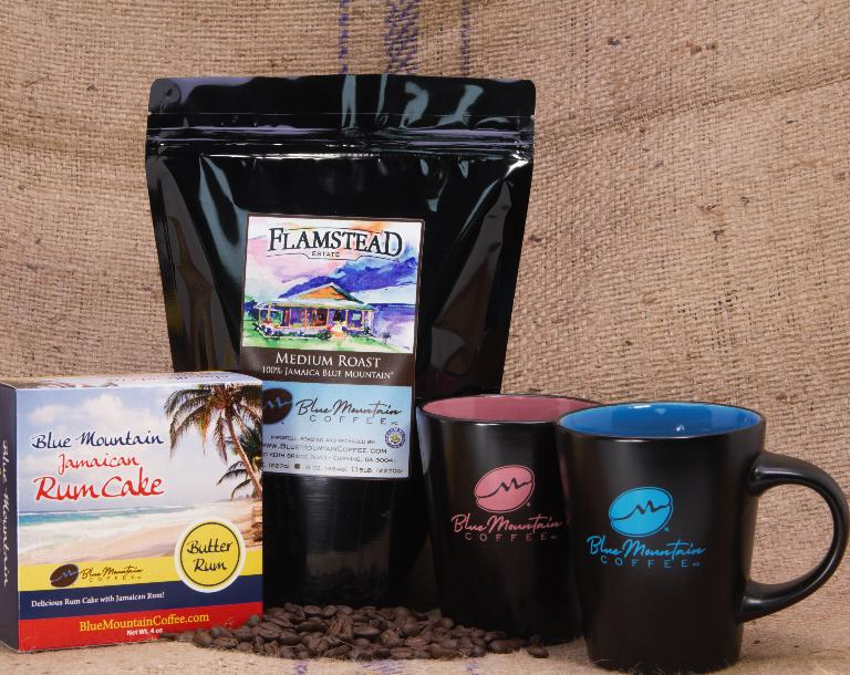 Flamstead Estate's 100% Jamaica Blue Mountain Coffee Med Roast