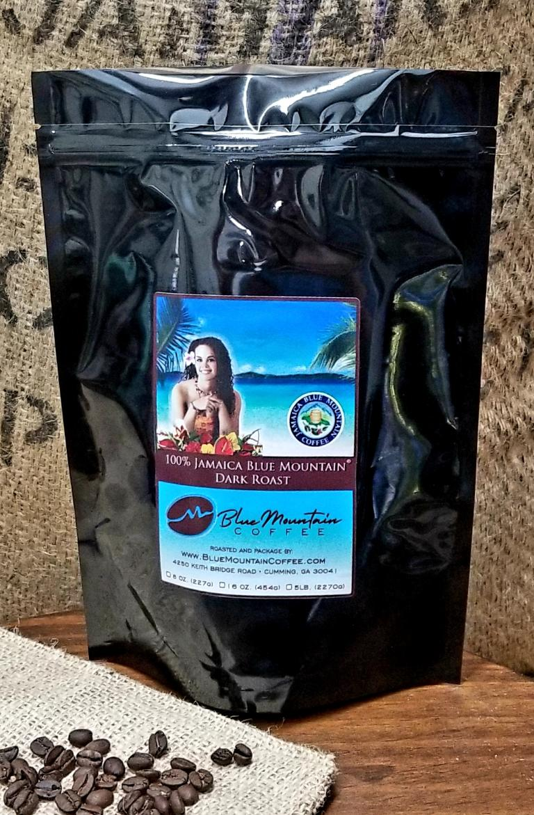 Mavis Bank 100% Blue Mountain Dark Roast Coffee