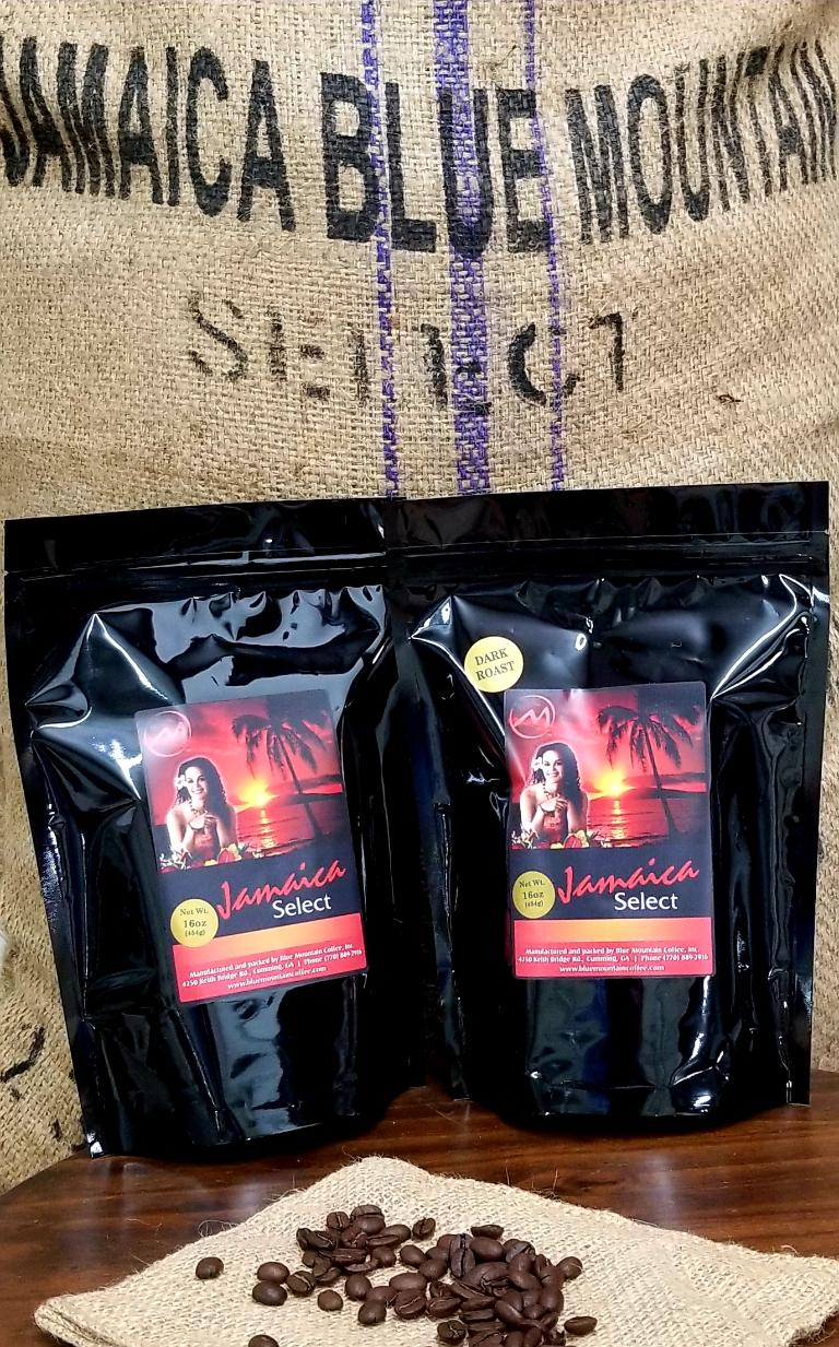 Blue Mountain Coffee Exclusive 'Jamaica Select'