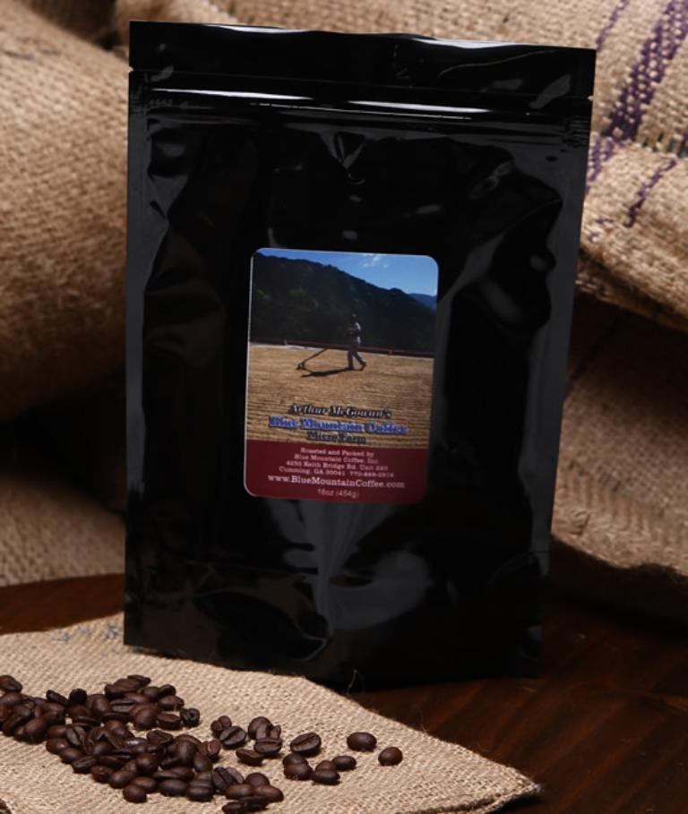 Arthur McGowan's 100% Jamaica Blue Mountain Coffee