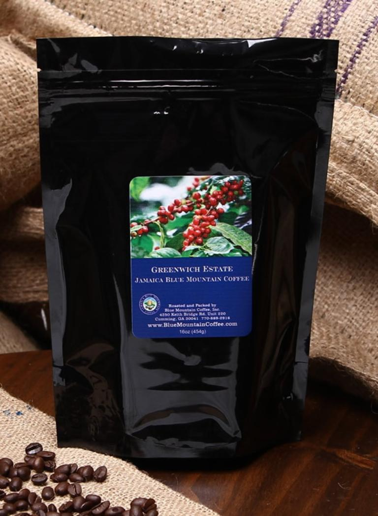 Greenwich Estate's 100% Jamaica Blue Mountain Coffee