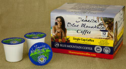 100% Jamaica Blue Mountain - Single Cup Coffee