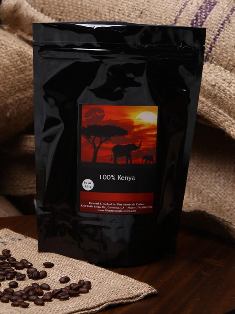 Kenya Coffee - Med / Dark / Peaberry
