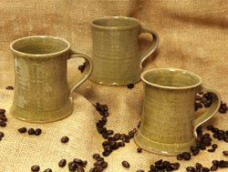 Straight Hand Made Mugs